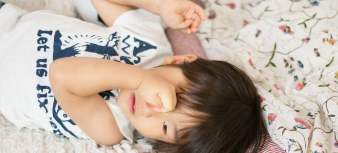 子供の睡眠不足 (2)